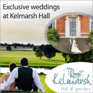 Weddings at Kelmarsh Hall and Gardens