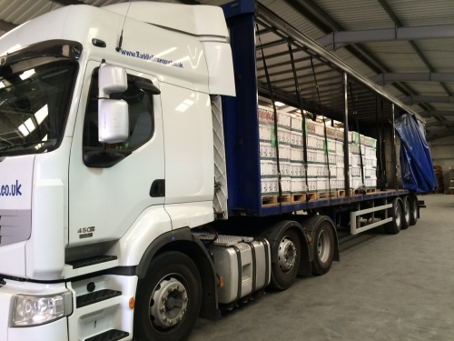 44t Curtainsider