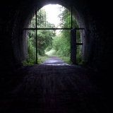 Light at the end - The tunnels at Kelmarsh and Maidwell are long, dark and a bit scary!