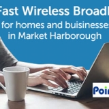 Fast Wireless Broadband for the Market Harborough area