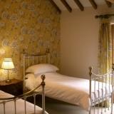 Bedroom Interior - Contemporary decor with en-suite shower room