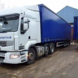 Artic Curtainside With Moffett